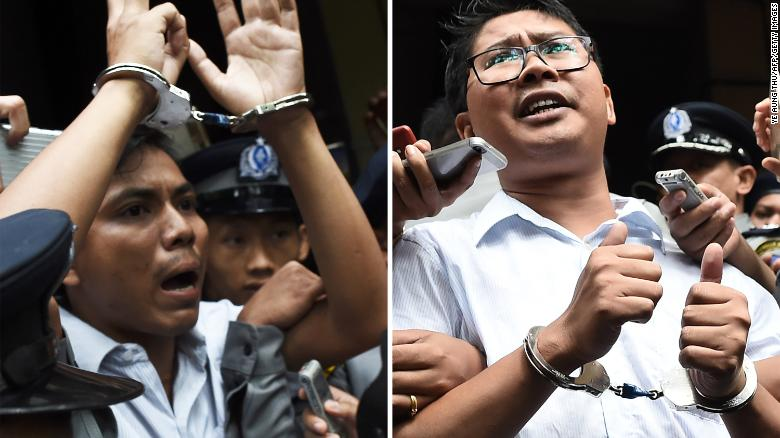 9cd3da51640 11.01.2019. MYANMAR court confirms seven-year jail terms for Reuters  journalists. The Press Emblem Campaign (PEC) is appalled to learn that  Myanmar s high ...
